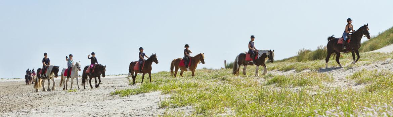 Molenruiters buitenrit op Ameland 2018